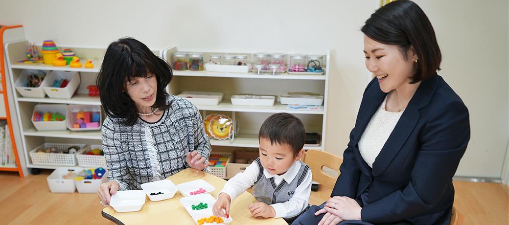 創造体験学習教室(幼児教室)で、お子さまの興味と知的好奇心を確かな「知恵」に。